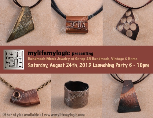 mylifemylogic- men's line launching party at Co-op 28